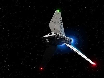 Dribbble - Lambda class imperial shuttle by Alexander Awerin #shuttle #lambda #wars #imperial #star #awesome