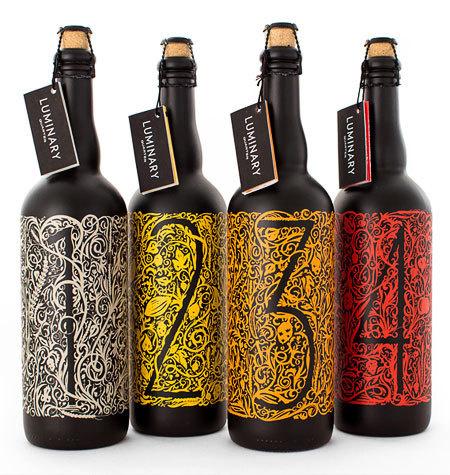 Luminary Quarter Beer #packaging #beer #illustration