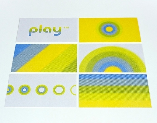 Onestep Creative - The Blog of Josh McDonald » Play Identity #design #identity #play #logo #package #mission