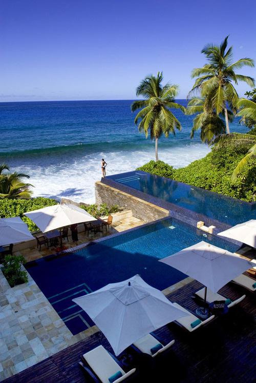 CJWHO ™ (Banyan Tree Seychelles The Banyan Tree...) #vacation #design #landscape #seychelles #luxury
