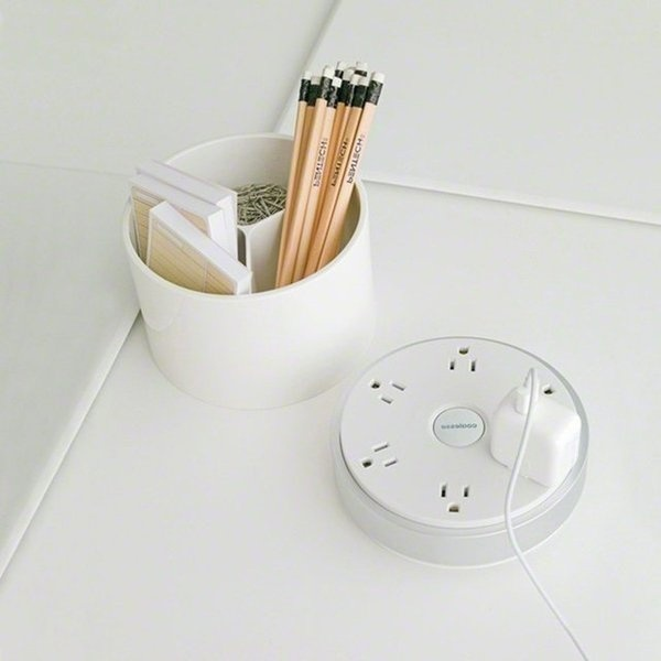 PowerPod by Coalesse | The Gadget Flow #group #multiple #design #power #gadget #socket #pod #product #shared #circular