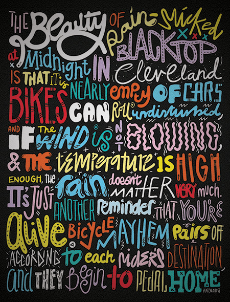 katemoross #illustrated #typography