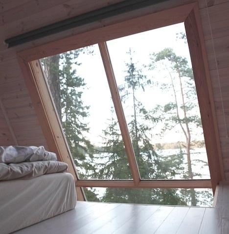 Robin Falck's Nido: A Finnish MicroCabin in the woods - Core77 #cabin #architecture