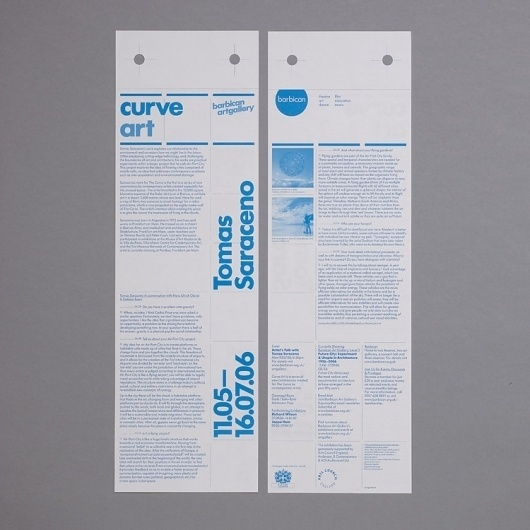SI Classics: North × Barbican   September Industry #print #typography