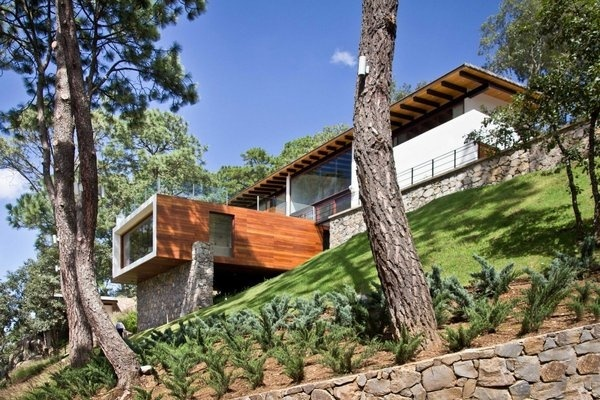 The Forest House by EMA #wood #architecture #house #modern