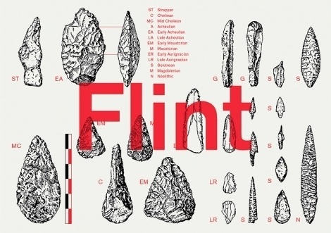 Flint identity, by Bibliothèque - Creative Journal #poster