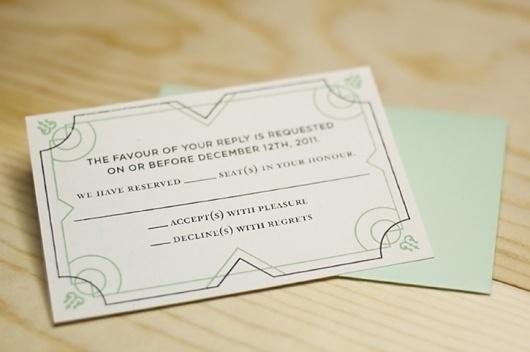 Benjamin Della Rosa // Graphic Design // Illustration #rsvp #screen #silk #wedding #deco