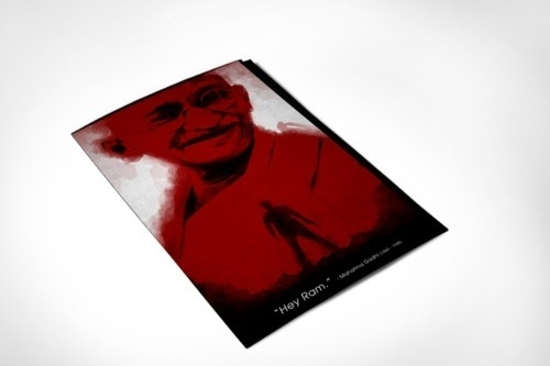 365 Concepts (The Day That Was # 4   Hey Ram) #blood #rupinder #gandhi #365 #india #concepts #singh #assassination