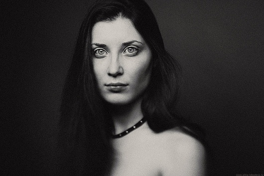 Stunning Portraits by Alina Lebedeva | Art Sponge #white #girl #and #lebedeva #black #alina #portrait #photography #film