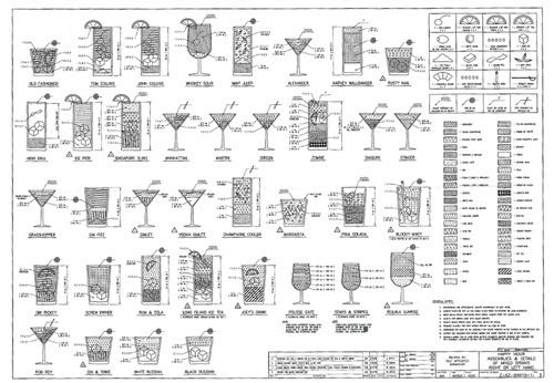 Blueprint For A Hangover | Gizmodo Australia #blueprint #drinks #cocktails