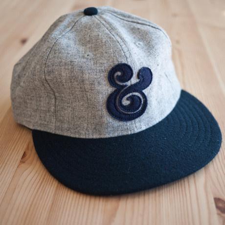 AMPERSAND BASEBALL CAP (NAVY) #ugmonk #ampersand #cap #hat #baseball #fashion