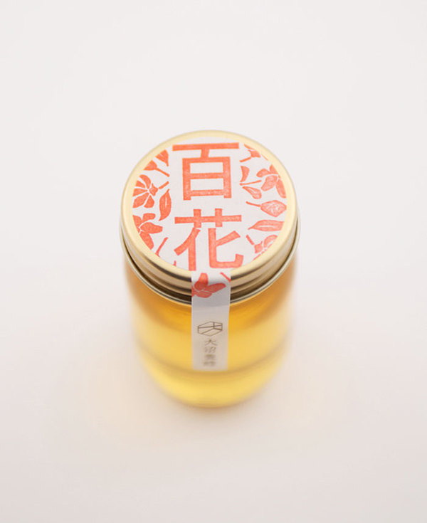 Honey #packaging #label #stamp