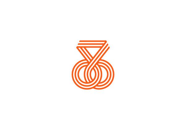 Bike v Design Identity #stripes #circles