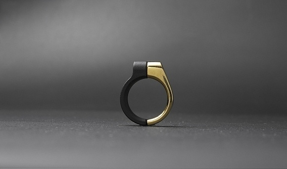 The Clamp Series by Drilling Lab is a collection of jewelry inspired by bicycle seat clamps.