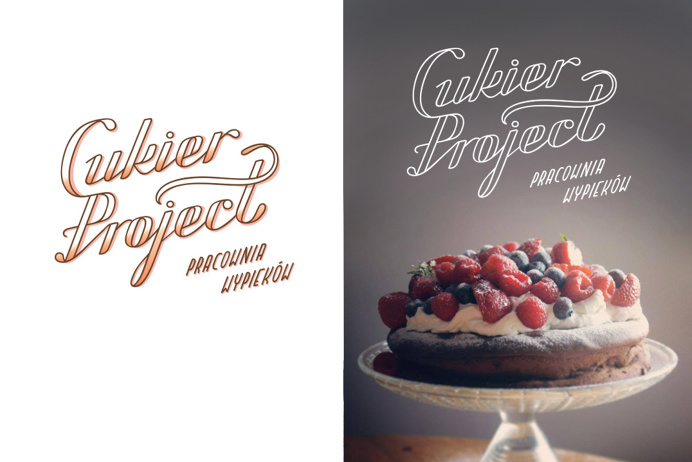 Magic Suitcase - Cukier Project visual ID #logotype #handlettering #sweets #sugar #cake #logo #graphicdesign
