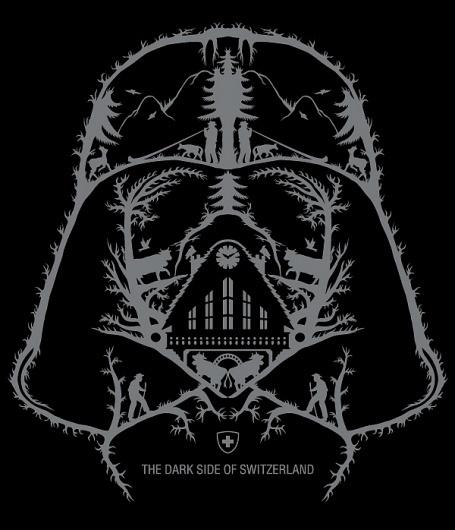 SWISS DARK SIDE on the Behance Network #switzerland #dark