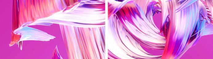 Paintwaves wave paint 3d art color colorful splash green yellow red violet mindsparkle mag experiment