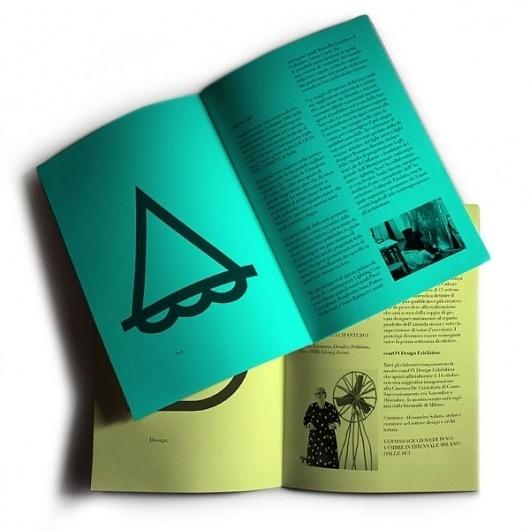 ComON Posters & Brochure on the Behance Network #brochure #book #oggian #marco