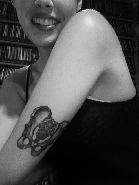Refresh Headers in Express #pelvis #tattoo #bones #body