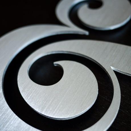 Ugmonk — PREMIUM ALUMINUM AMPERSAND #ugmonk #ampersand #object #type #aluminium