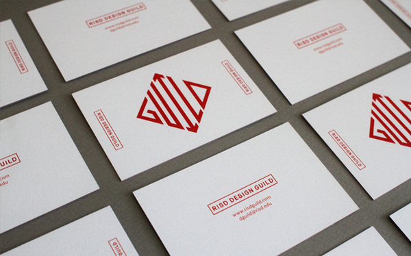 RISD Design Guild Business Card #card #risd #business
