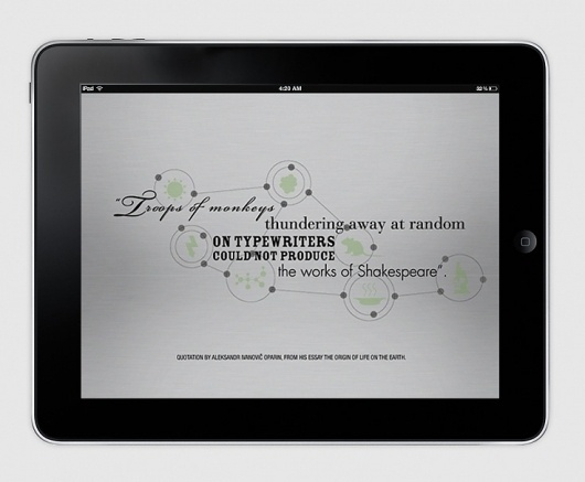 Francesco Vetica | Designer | Adam Digital Magazine #visual #ipad #infographic #design #typography