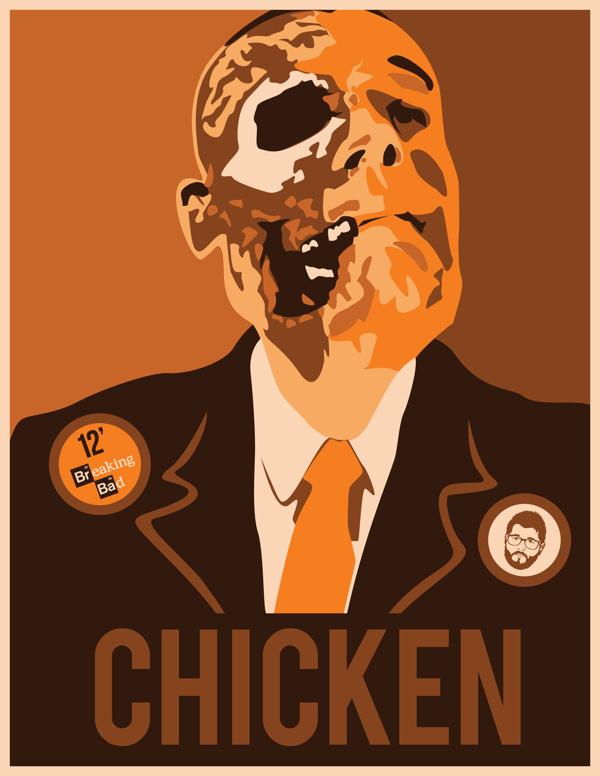 Breaking Bad Posters #walter #bad #white #breaking #meth #pinkman #crystal #barrack #posters #jr #jessie #obey #science #obama