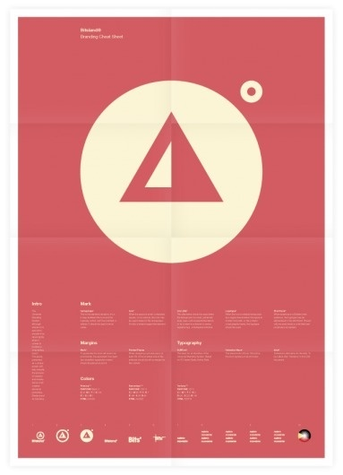 Universal Branding System (Bitsland) Poster #inspiration #creative #design #graphic #de #grid #system #poster #typography