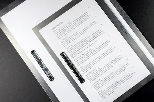 Glasfurd & Walker : Concept / Graphic Design / Art Direction : Vancouver, BC #menu