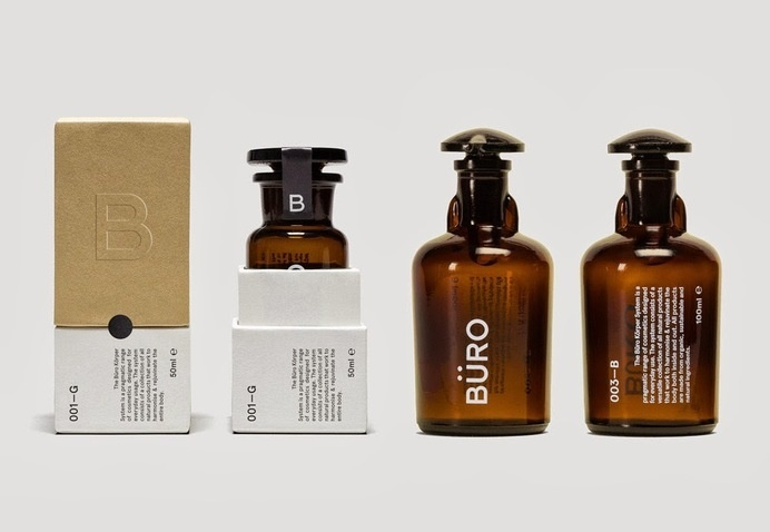 Büro on Packaging of the World - Creative Package Design Gallery #packaging #branding #beauty