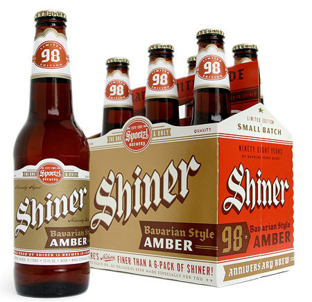 Shiner Bavarian Amber Packaging #packaging #beer #label #bottle