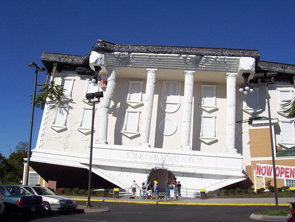 Wonderworks (Pigeon Forge, TN, USA) #building #house #interesting
