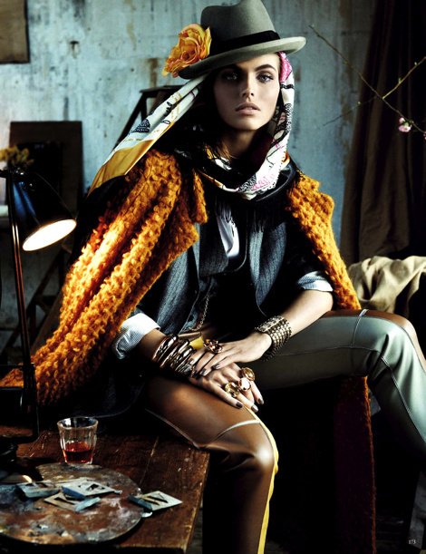 Karlina Caune by Giampaolo Sgura for Vogue Germany May 2013 #fashion #model #photography #girl