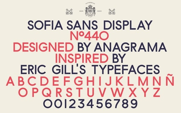typetoken® | Showcasing #serif #british #sans #sofia