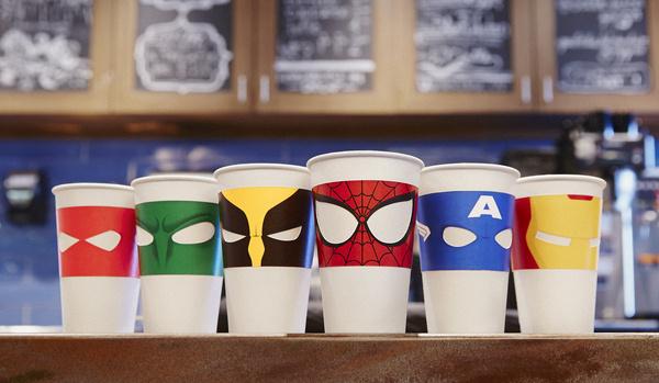 Masked Macchiato #glass #cup