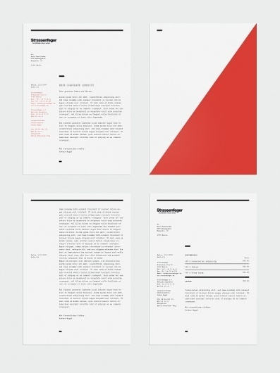 Visual identity concept / Strassenfeger on the Behance Network #identity #design #graphic #branding