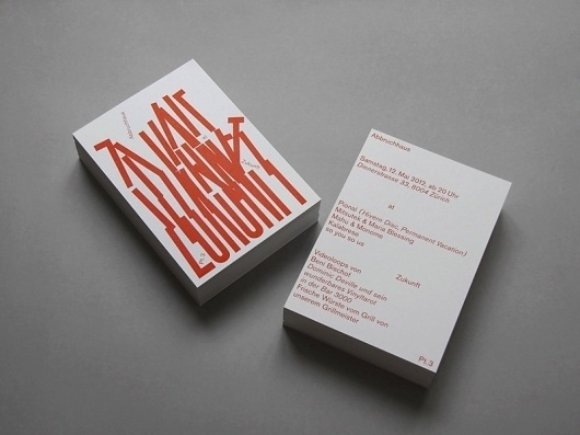 Larissa Kasper #flyer #typography