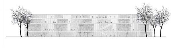 White Noise, Helsinki Central Library / Microcities #architecture #drawing