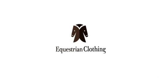 SymmetricalLogoDesign 32 #logo #horse #symmetrical