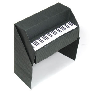 How to make a 3D origami piano (http://www.origami-make.org/howto-origami-piano.php)
