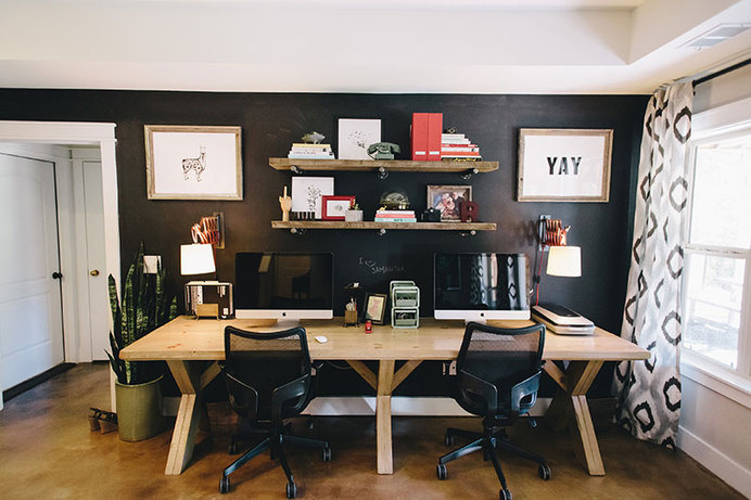 My Workspace by Ashley Jankowski #office #desk #workspace
