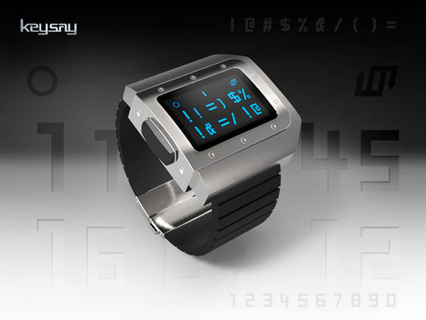 Keysay Watch #design #futuristic #gadget #industrial #concept #art