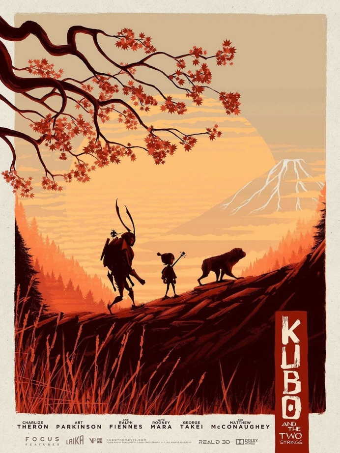 Kubo and the Two Strings (2016) #flim #movie #cinema #poster