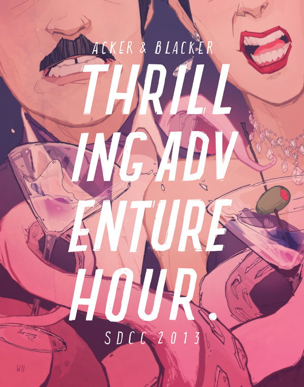 ANNIE WU #adventure #thrilling #hour #martini