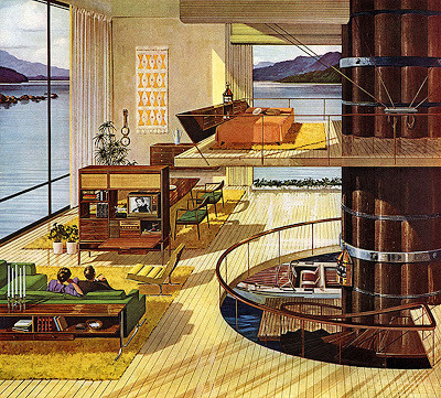 Mid Century Home #retro #vintage #home