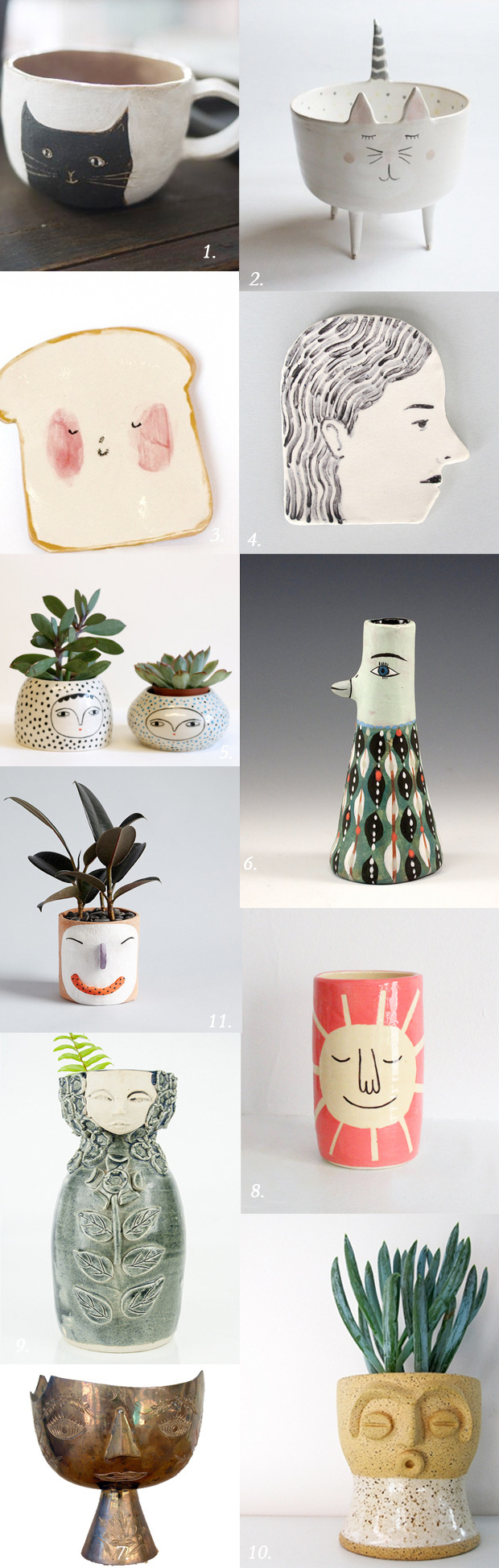 vessels with personality #ceramics #vessels