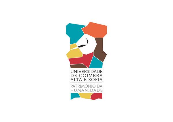"""Logo """"Universidade de Coimbra"""" - Património Humanidade #heritage #branding #university #portugal #coimbra #unesco #humanity #logo #tower #clock"""
