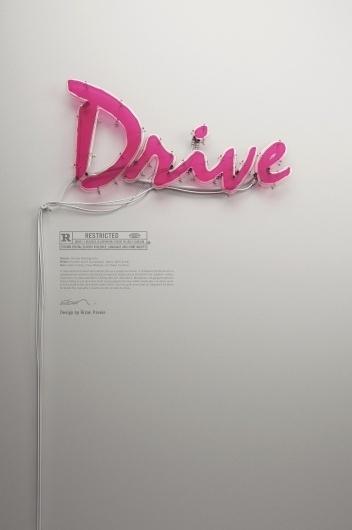 Dribbble - rizon_parein_drive_neon_02.jpg by Rizon Parein #poster #film