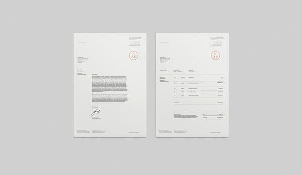 KAE Brand Identity #letterhead