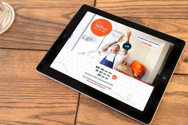 Pastaria St. Louis Website #design #graphic #identity